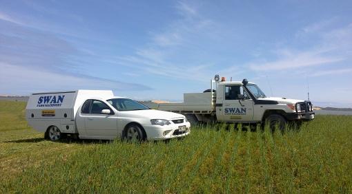 Swan Farm On Farm Service Vehicles